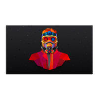 Картина Star Lord (Стражи Галактики) на холсте (разные размеры)