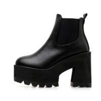 Женские ботинки на высокой платформе на Алиэкспресс - место 5 - фото 6