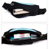 Водонепроницаемая поясная сумка для бега с выходом для наушников