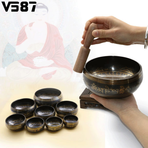 Тибетская поющая чаша для медитаций