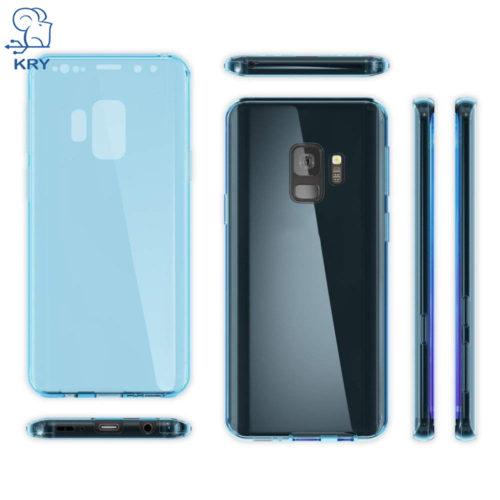 Двухсторонние силиконовые прозрачные чехлы на смартфоны Xiaomi