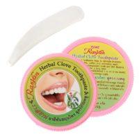 Отбеливающий травяной зубной порошок с гвоздикой