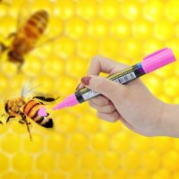 Маркер для пчел 2 шт. в наборе (8 цветов)