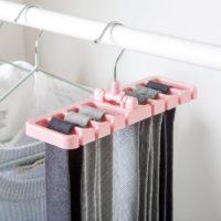 Вешалка органайзер в шкаф для ремней и галстуков