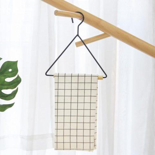 Геометрический треугольный держатель вешалка для туалетного рулона бумаги или одежды (ширина 19,5 см)