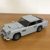 Конструктор автомобиль James Bond Aston Martin DB5