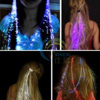 Светящиеся пряди для волос