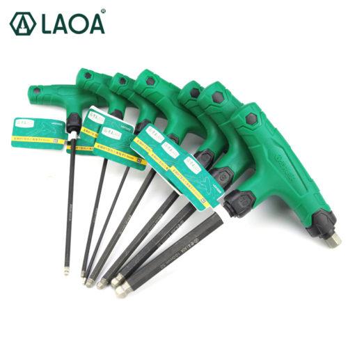 LAOA Т-образные шестигранные ключи (2,5/3/4/5/6/8/10 мм)