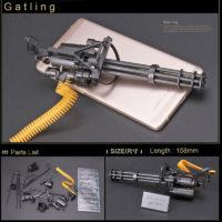 Многоствольный пулемет модель конструктор M134 Minigun 1:6 из Терминатор