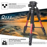 Zomei Q111 Профессиональный портативный алюминиевый штатив для фотоаппарата и камеры