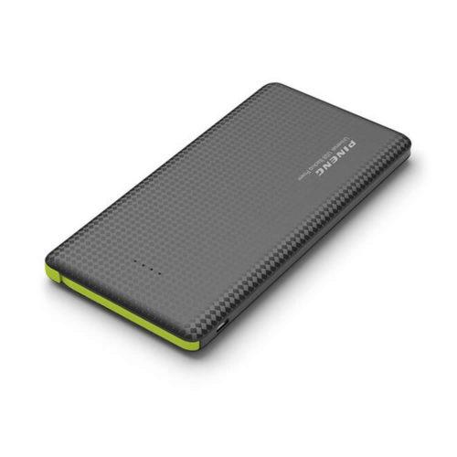 Pineng PN951 Power Bank портативное зарядное устройство 10000 мАч с встроенным кабелем разъема micro USB и для устройств Apple 8pin