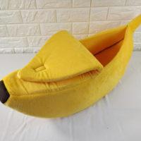 Лежанка домик в виде банана для питомцев (кошек и собак)