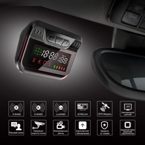 Ruccess STR S900 Антирадар в автомобиль 2 в 1