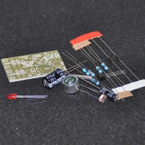 DIY Активация лампочки по хлопку