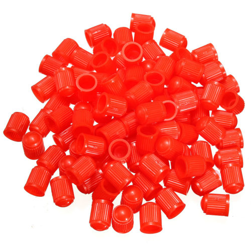 Колпачки на золотники разных цветов 100 шт.