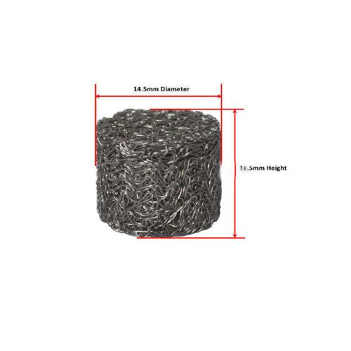 Пенная таблетка (спрессованная металлическая сетка) для мойки