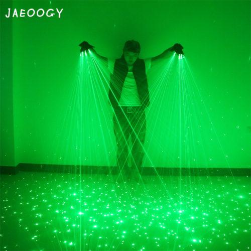 Лазерные светодиодные перчатки