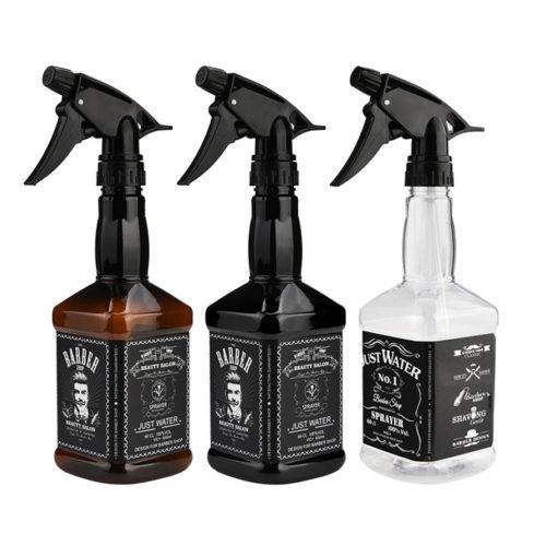 Распылители для воды в виде бутылки виски в барбер шоп (парикмахерскую для мужчин)