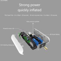 Аккумуляторный умный электронасос