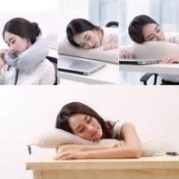 Xiaomi Multi-function U-shaped Massage Neck Pillow дорожная подушка с наполнителем из латекса