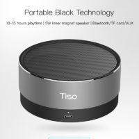 Беспроводная портативная водонепроницаемая Bluetooth колонка динамик Tiso T10
