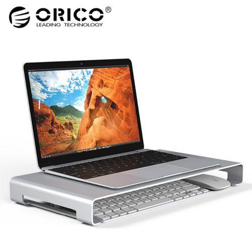 ORICO Алюминиевая серая подставка для ноутбука