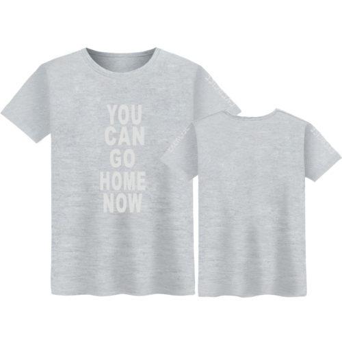 Спортивная футболка с проявляющейся надписью от пота You Can Go Home Now (Теперь ты можешь идти домой)