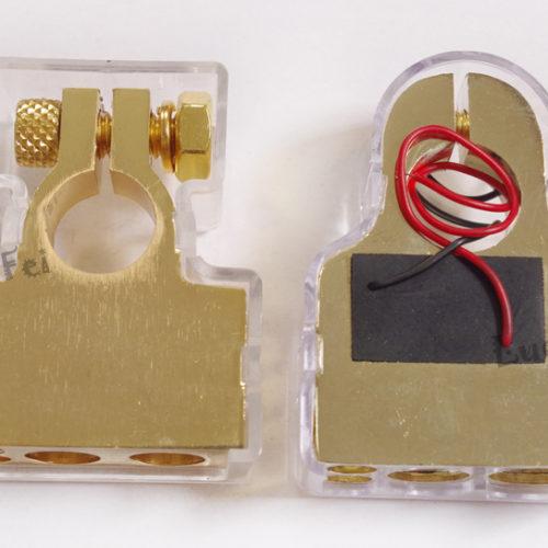 Клеммы со встроенным вольтметром