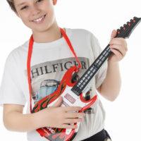Детская электрогитара со струнами