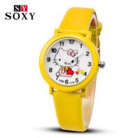 Детские наручные часы для девочек с Hello Kitty