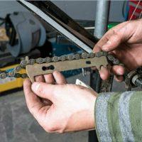 Инструмент для проверки износа цепи велосипеда