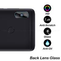 Защитное закаленное стекло на камеру смартфонов Xiaomi