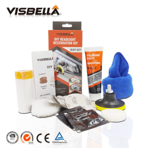 Visbella набор для восстановления прозрачности фар автомобиля