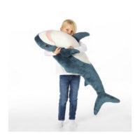 Большая мягкая игрушка Акула 100 см (реплика БЛОХЭЙ от Ikea)