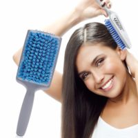 Расческа для сушки волос с микрофиброй
