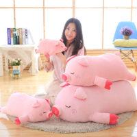 Мягкая игрушка подушка в виде розовой свиньи / поросенка  40/55/75/100 см