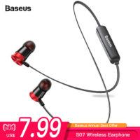 Беспроводные Bluetooth наушники Baseus S07