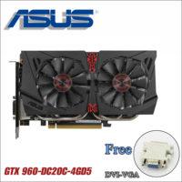 ASUS Игровая видеокарта GTX 960 DC2OC 4GD5