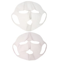 Силиконовая многоразовая фиксирующая маска для лица