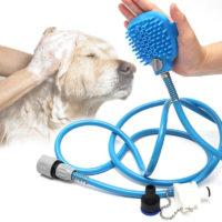 Щетка-душ для купания собак