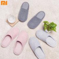 Xiaomi Home Cotton Slippers Антибактериальные теплые домашние тапки для женщин и мужчин