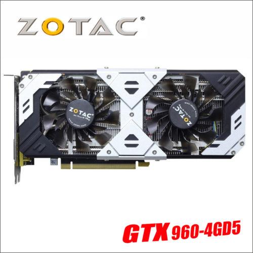 ZOTAC видеокарта GeForce GTX 960 4GB D5