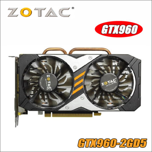 ZOTAC видеокарта GeForce GTX 960 2GD5