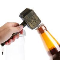 Мужская открывашка для бутылок пива в виде Молота Тора
