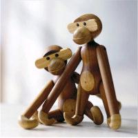 Деревянная игрушка обезьянка Кая Бойесена