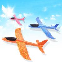Детский пенопластовый летающий планер игрушка