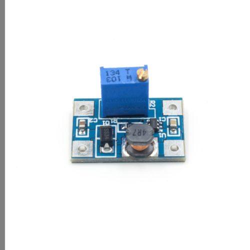 Регулируемый повышающий преобразователь напряжения SX1308 2-28V, 2A