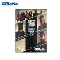 Подарочный набор бритва Gillette Fusion Proshield Chill Лига Справедливости с 4 сменными кассетами