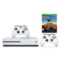 Xbox One S 1ТБ + второй геймапд + игра PUBG (код) + XboxLiveGold 1 мес. + GamePass 1 мес.