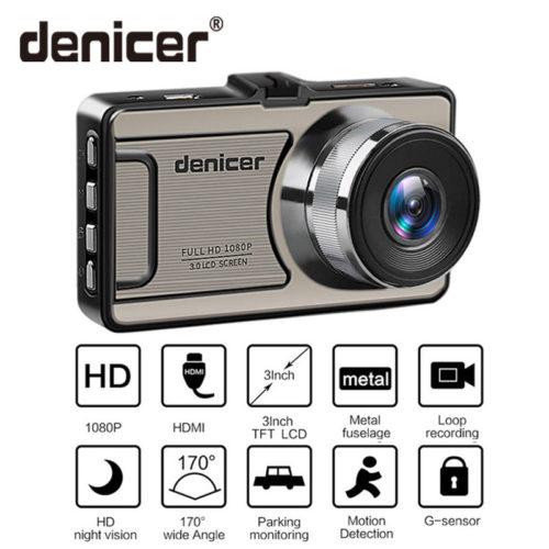 Denicer Full HD 1080p DVR 170 автомобильный видеорегистратор камера ночного видения